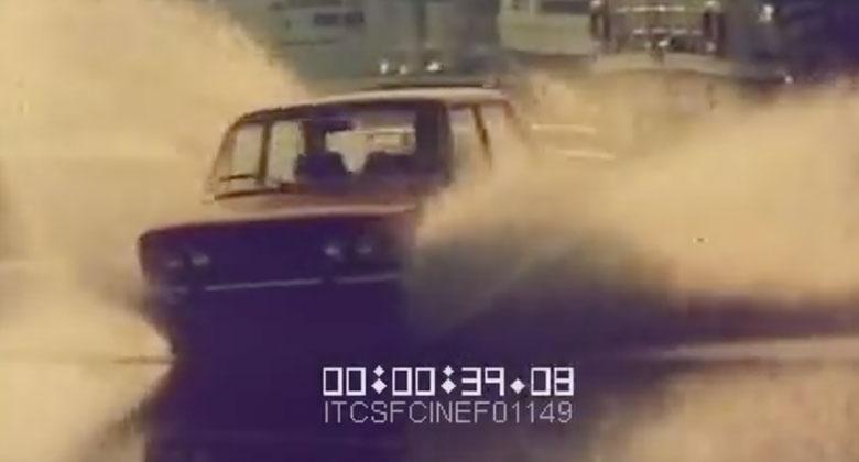 Video: Tohle byly reklamy! Úžasný kaskadérský výkon Fiatu 124!