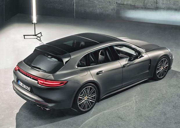Je libo rychlý kombík? Porsche Panamera Sport Turismo odhalilo české ceny