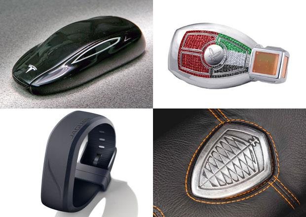 10 nejzajímavějších klíčků od aut. Poznáte, jakému autu patří?