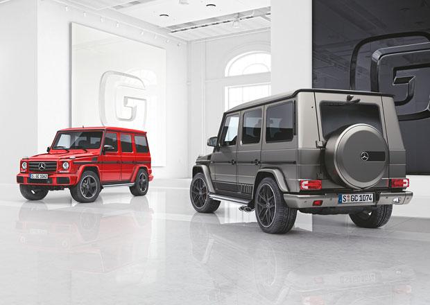 Mercedes G: Hranatý klasik do terénu má dvě nové limitované edice