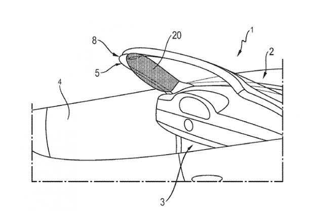 Porsche si patentovalo hlavové airbagy pro kabriolety. Kam je nacpalo?