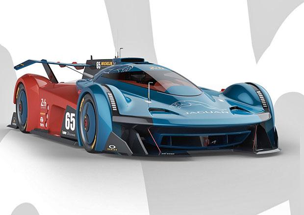 Jaguar SS-107: Elektrický a turbínový návrat kočky do Le Mans v roce 2030