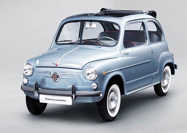 Seat zrenovoval polokabriolet 600 z roku 1965 k 60. výročí zahájení výroby