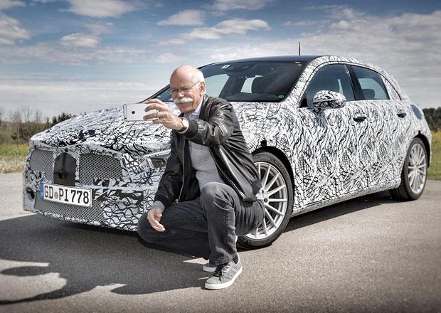 Mercedes už láká na příchod nové generace třídy A. Na LinkedInu!