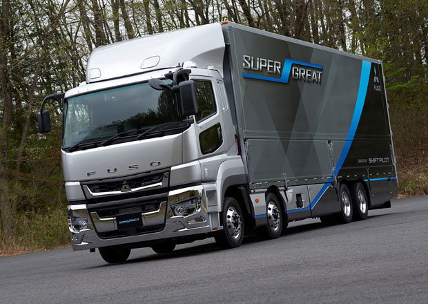 Fuso odhaluje novou generaci Super Great pro Japonsko
