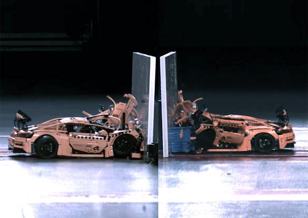 Video: Crash test Porsche z lega. Dopadlo to... děsivě!
