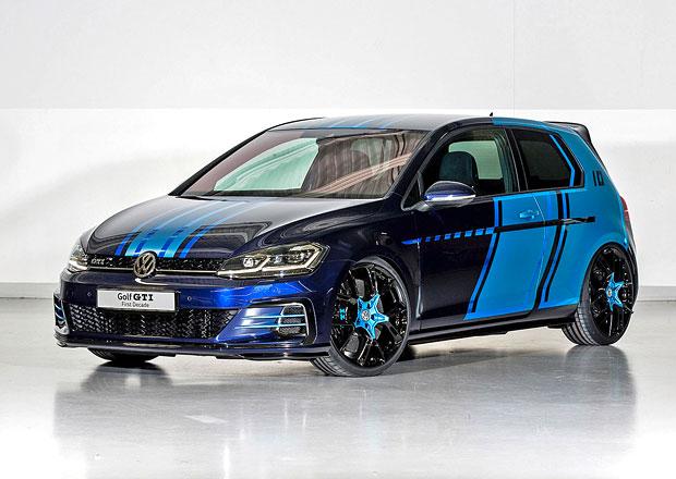 Golf GTI First Decade Concept: Čtyřsetkoňový hybrid pro Wörthersee