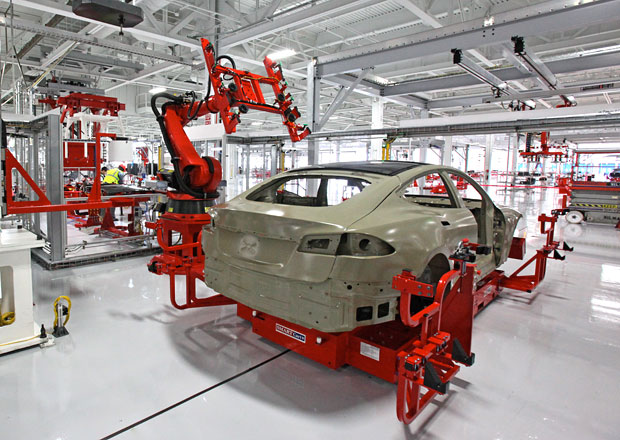 Tesla bude vyrábět v Číně, závod bude mít ve výlučném vlastnictví