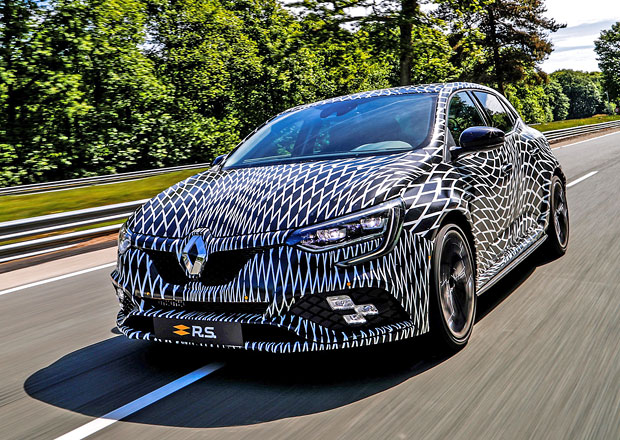 Nový Renault Mégane R.S. poprvé na veřejnosti. Manuál bude!