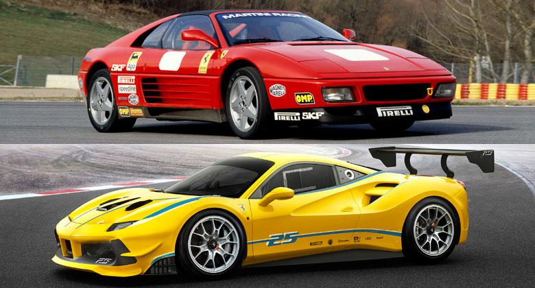 Ferrari pro značkový pohár od jeho zrodu až po současnost ve velké galerii