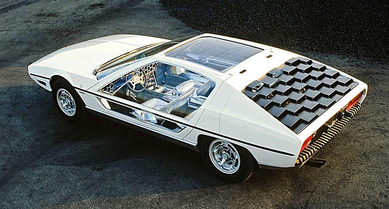 Zapomenuté koncepty: Lamborghini Marzal (1967) – Okřídlený šestiúhelník