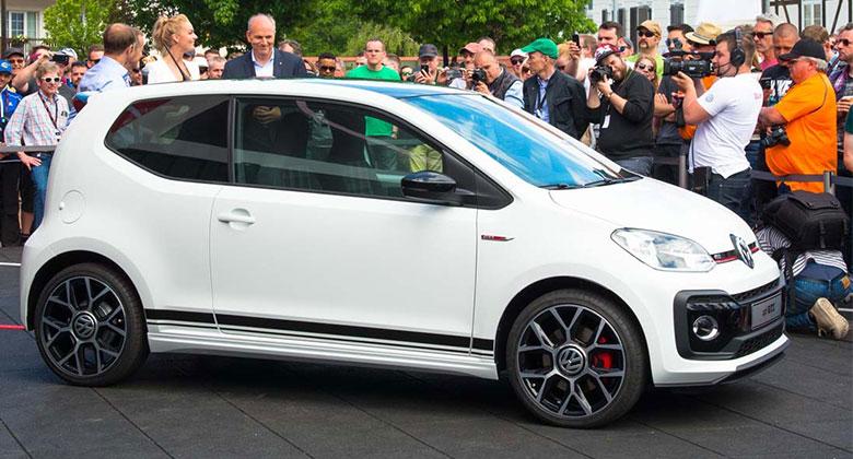 Volkswagen Up! GTI poprvé naživo: Jedničkový Golf GTI je zpátky! (+videa)