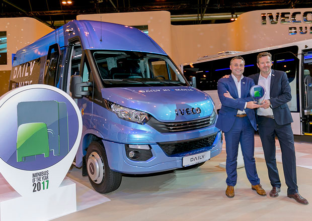 Iveco Daily Tourys získal titul International Minibus of the Year 2017