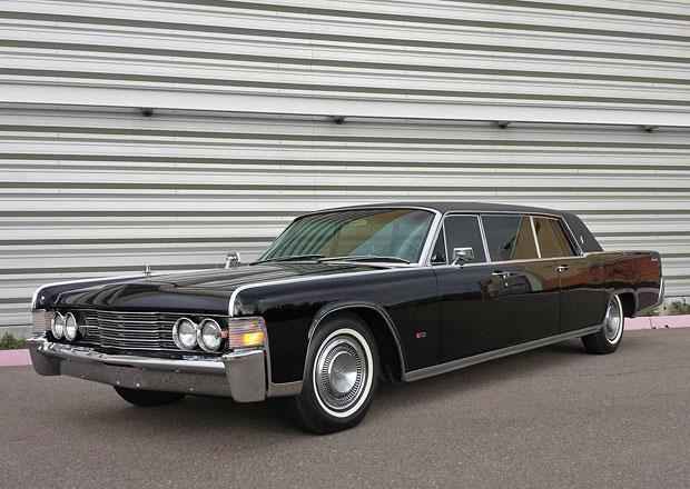 Prodloužený Lincoln Continental Steva McQueena není tak drahý, jak byste řekli