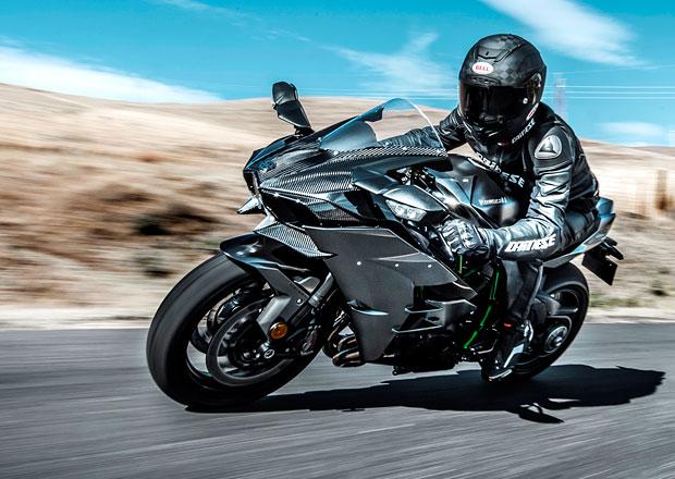 Kawasaki Ninja H2 Carbon je exkluzivní jednostopá střela s kompresorem