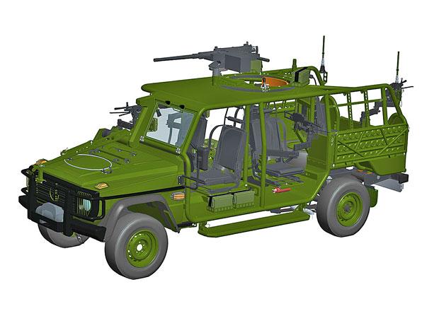 Zetor odhaluje detaily o připravovaných armádních speciálech. Co nabídne Wolfdog, 8x8 a Fox?