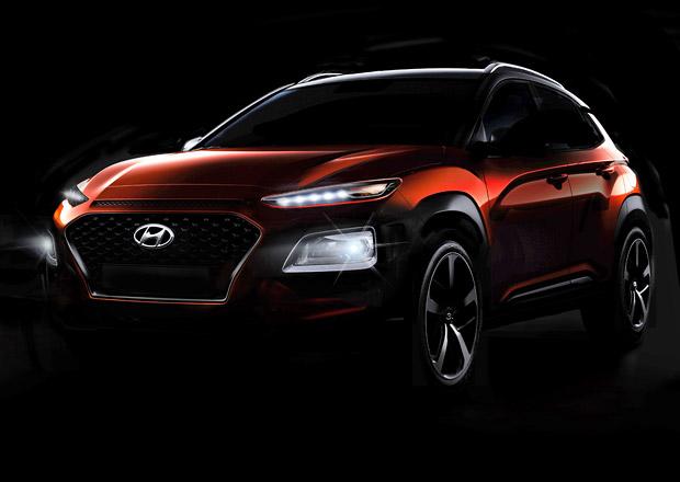 Hyundai Kona poprvé odhaluje svůj vzhled. Také Korejci budou mít čtyřočko
