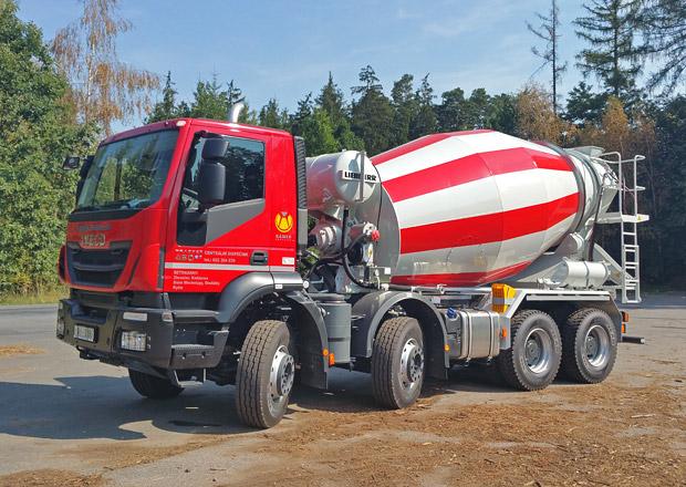 Domíchávače betonu: Iveco