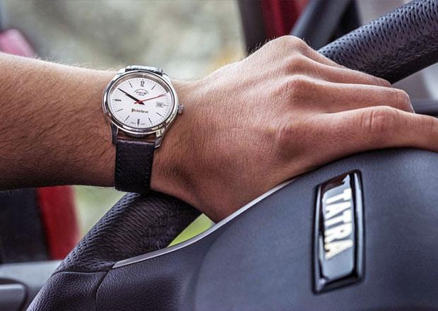Tatra oslavuje významné výročí speciální edicí hodinek Prim Präsident
