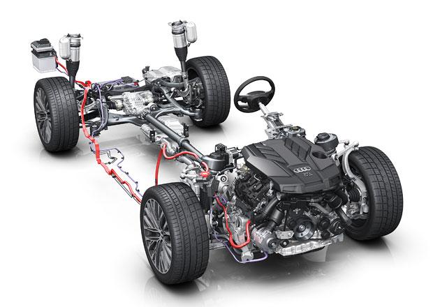 Audi MHEV (Mild-hybrid): Tak trochu jiný hybrid. Podle Audi!
