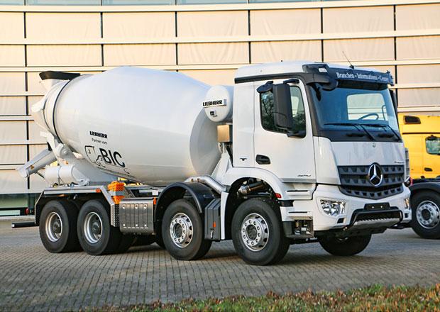 Domíchávače betonu: Mercedes-Benz