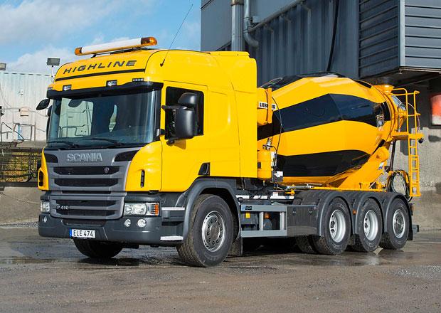 Domíchávače betonu: Scania