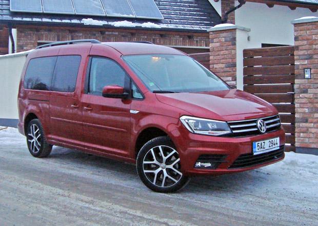 Volkswagen Caddy Maxi 2.0 TDI (2. díl): Spotřeba klesá