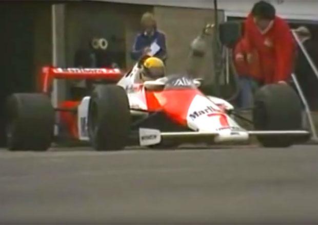 Zrod legendy: Ayrton Senna poprvé testoval vůz Formule 1. A všechny porazil!
