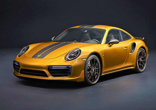 Porsche 911 Turbo S Exclusive Series má 27 koní k dobru