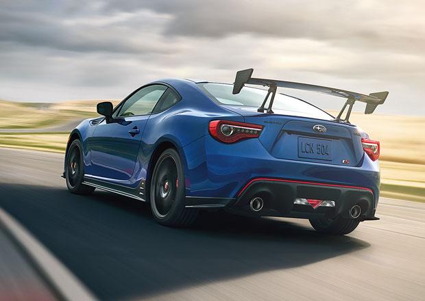 Subaru BRZ tS opět přijíždí místo očekávaného STI
