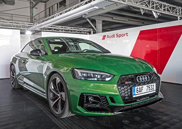 Jízdní dojmy Audi RS5 Coupé: Stejný výkon, ale méně válců