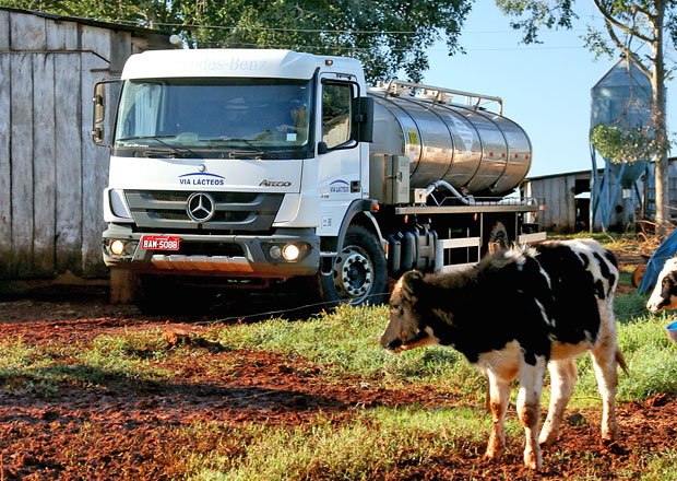 Mercedes-Benz Atego: Mlékařské speciály pro Brazílii