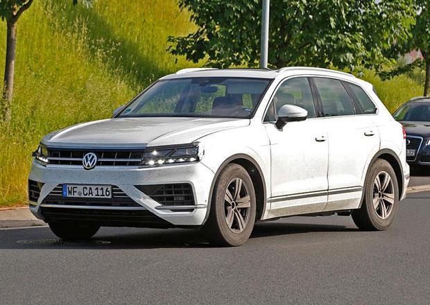 Nový VW Touareg odhalen na prvních snímcích. Inspiroval se konceptem T-Prime