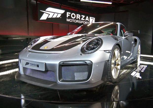Porsche ukázalo světu 911 GT2 RS. Sporťák se objeví na obálce závodní hry Forza