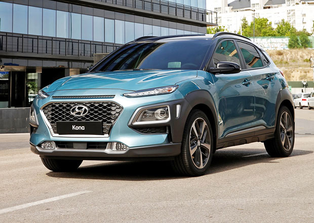 Hyundai Kona přijíždí oficiálně. Má funky design a zcela novou platformu