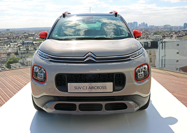 Citroën C3 Aircross poprvé naživo: Jak působí nástupce C3 Picasso?