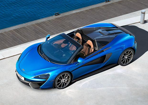 McLaren 570S Spider jede až 328 km/h, bez střechy je to ale míň