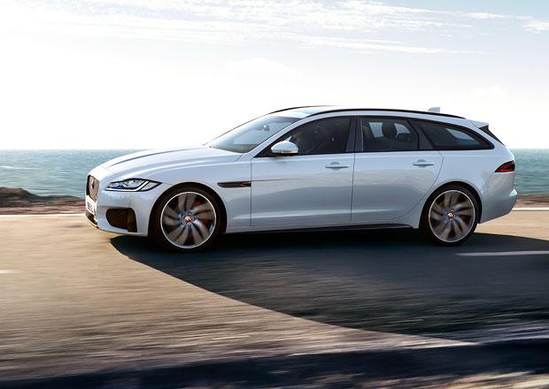 Nový Jaguar XF Sportbrake odhaluje české ceny. Je levnější než německá konkurence?