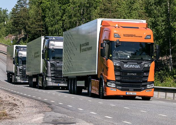 Scania: Nákladní doprava směřuje k jízdě v konvojích