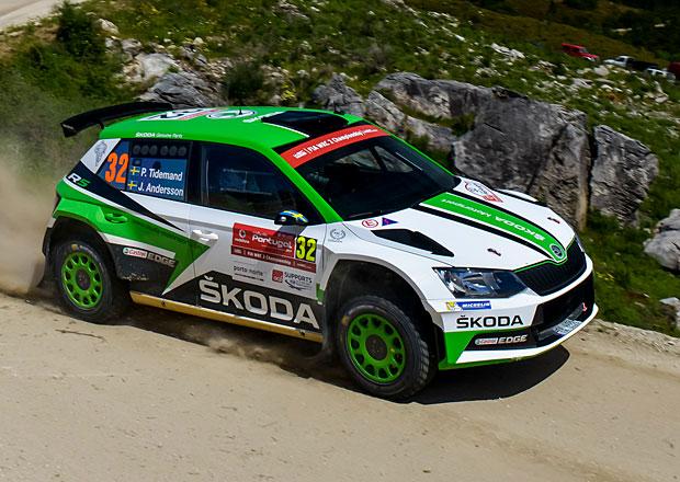 Rallye Hustopeče, 1. etapa: Kopecký na cestě