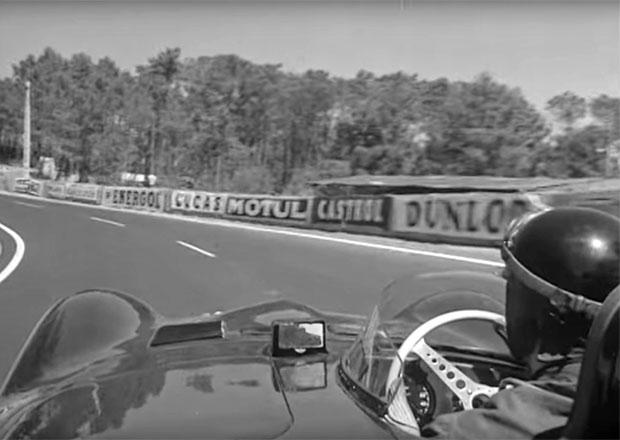 Jak vypadal okruh v Le Mans před více než 60 lety? Projeďte se s bývalým vítězem