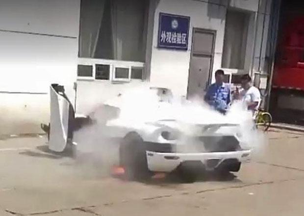 Požár Koenigseggu Agera R: Může za něj akumulátor?