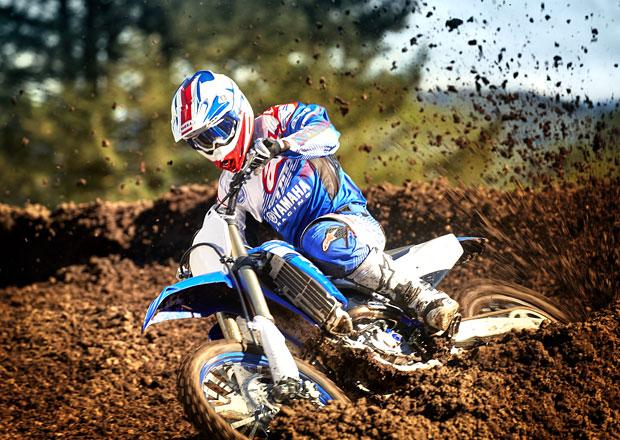 Yamaha YZ450F: Novinku pro motokros nastavíte mobilem