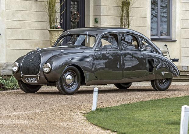 Škoda 935 Dynamic (1935): Proudnicový model měla i Škodovka. Tento je jediný na světě!