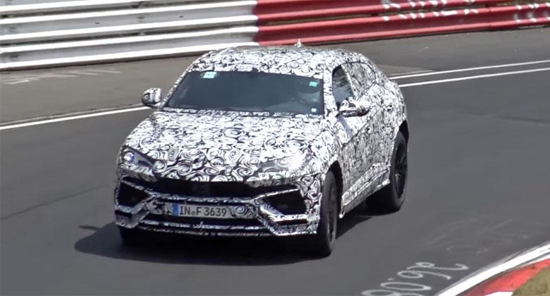 Poslechněte si zvuk Lamborghini Urus na Nürburgringu. Je to vůbec ještě Lambo?