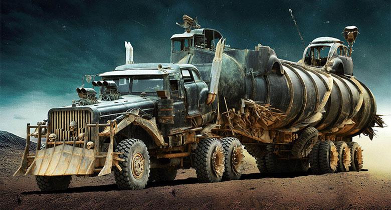 The War Rig: Šílený náklaďák ze Šíleného Maxe? Je to Tatra 815!