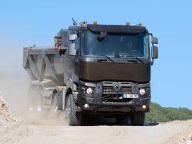 Vozidla Renault Trucks pro stavbu: Dva a jeden
