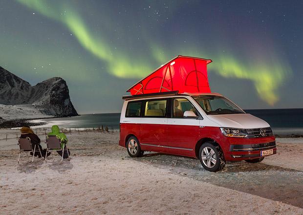 Volkswagen – Explore the north: V Lofotech bez hotelu