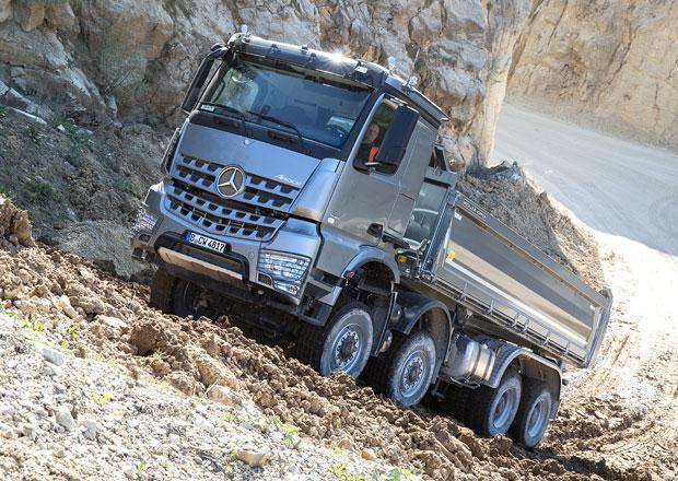 Vozidla Mercedes-Benz pro stavbu: Speciál na vše