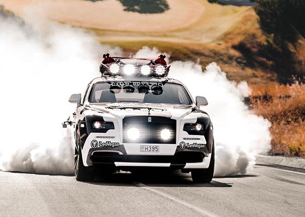 Nejšílenější Rolls-Royce na světě? Wraith s 810 koňmi slavného lyžaře